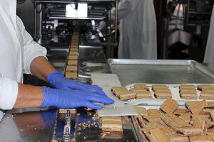 Eagle Protect Sensitive Nitrile Nature's Bakery Factory Line Web