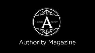 Authority Magazine Logo In the News