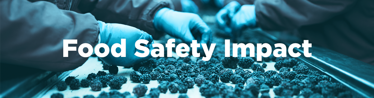 Food Safety Impact 1200X315px