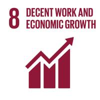 UN SDG 8 Decent work and economic growth