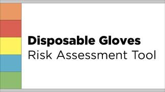 Eagle Protect disposable gloves risk assessment tool
