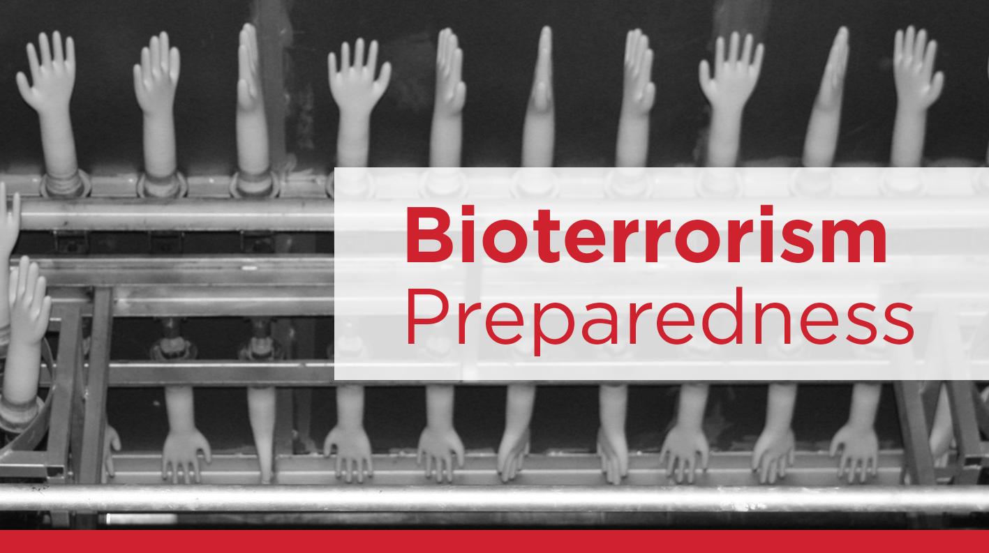 Eagle Protect bioterrorism preparedness disposable gloves
