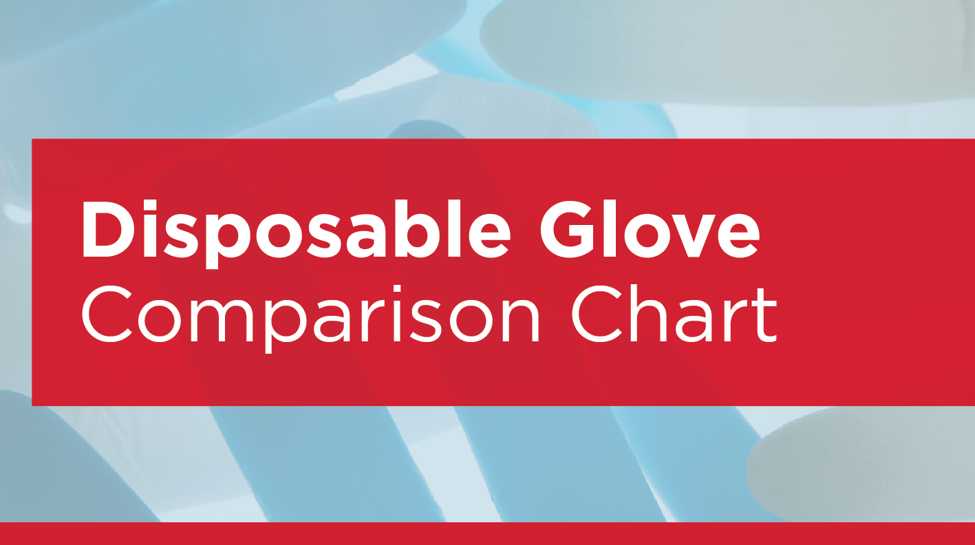 Eagle Protect Disposable Glove Comparison Chart