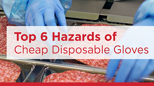 Eagle Protect top 6 hazards of disposable gloves