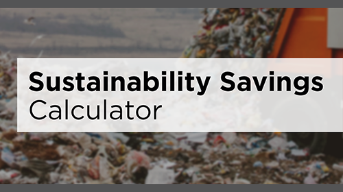 Eagle Protect Disposable Gloves Waste Savings Calculator